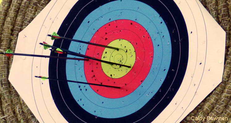 slideshow target face with arrows